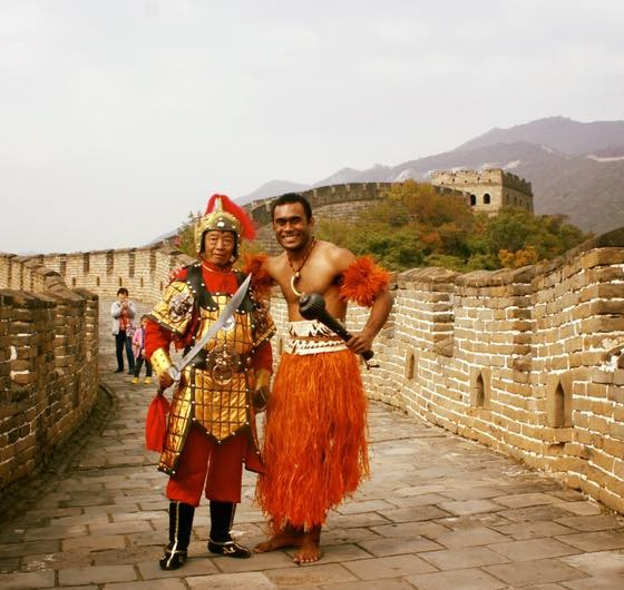 VOU at the Great Wall of China